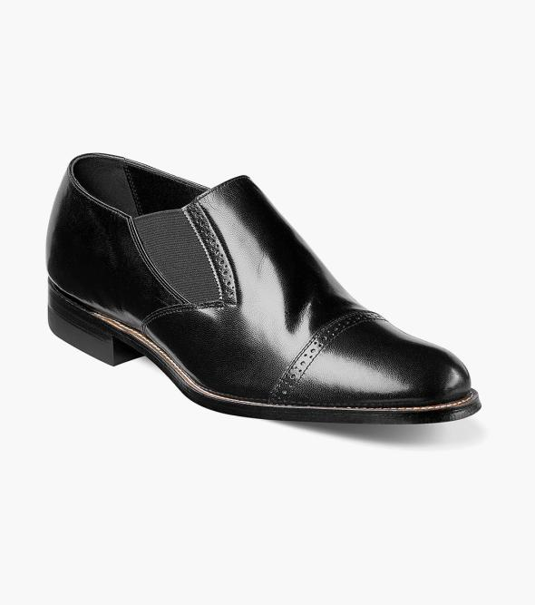 Madison Elastic Cap Toe Slip On