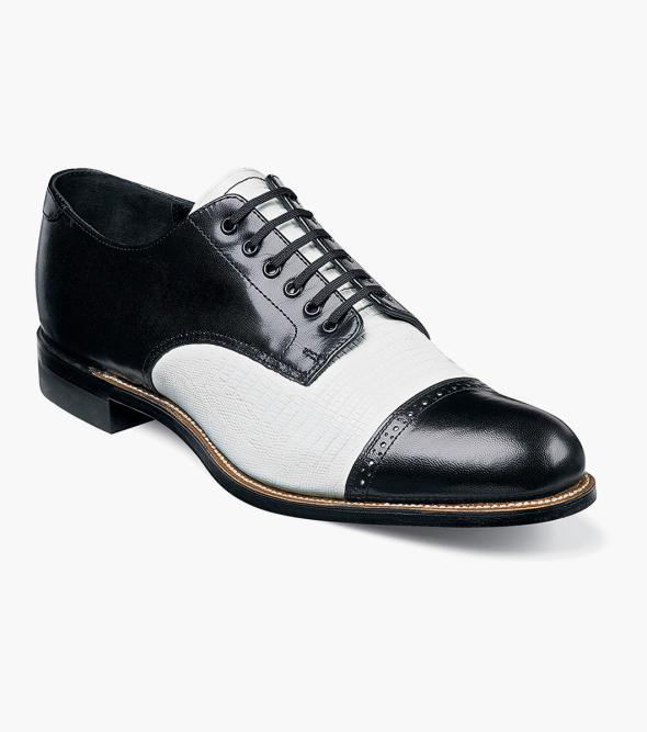 Madison Lizard Cap Toe Oxford 142.90