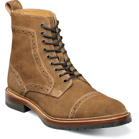 Madison II Suede Cap Toe Boot
