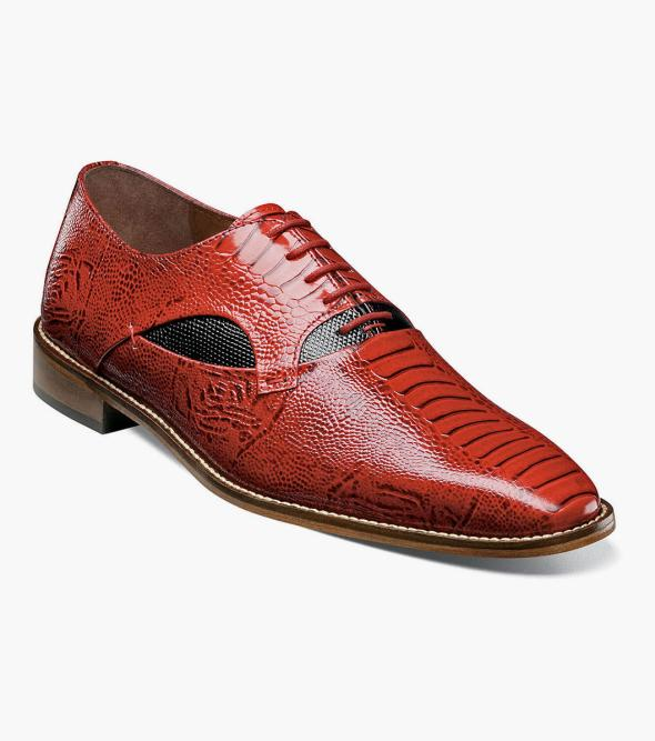 Ricoletti Leather Sole Plain Toe Oxford