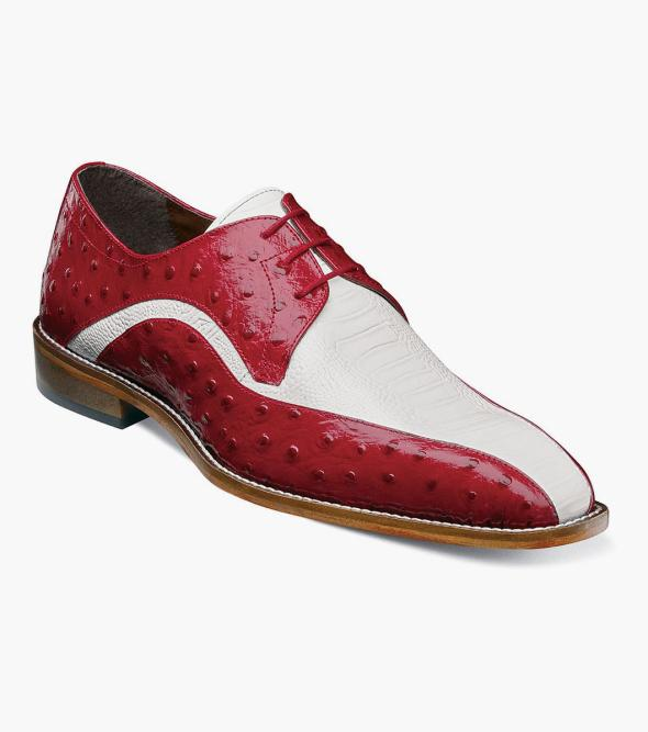 Trevi Leather Sole Bike Toe Oxford