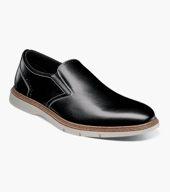 Sideline Plain Toe Slip On