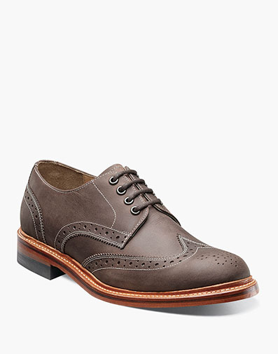 Madison II Wingtip Oxford  in Brown for $129.90