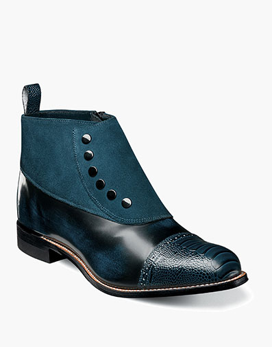 Madison Cap Toe Side Zip in Navy for $200.00