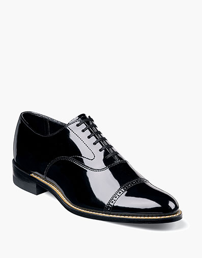 Concorde Cap Toe Oxford in Black for $135.00