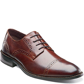 Prescott Cap Toe Lace Up in Brown for $130.00
