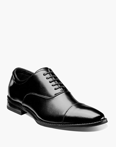 Kordell Cap Toe Oxford in Black for $130.00