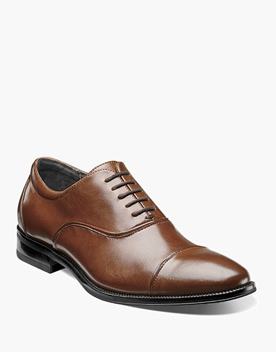 Kordell Cap Toe Oxford in Cognac for $130.00