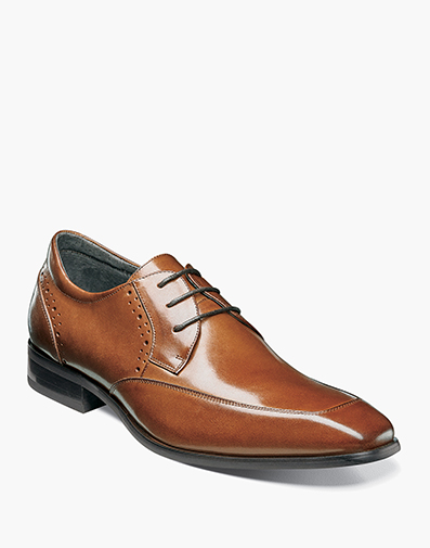 Manchester Moc Toe Oxford in Cognac for $130.00