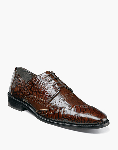Garzon Cap Toe Oxford in Cognac for $130.00