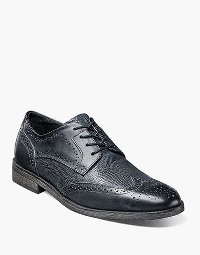 Bastian  Wingtip Oxford in Black for $109.90
