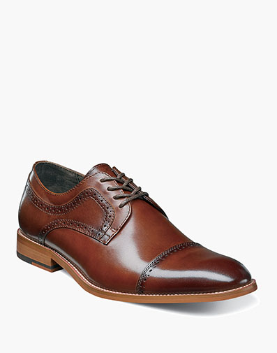 Dickinson Cap Toe Oxford in Cognac for $97.50
