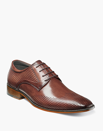 Kallan  Plain Toe Oxford in Chestnut for $114.90