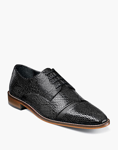 Rizzo Cap Toe Oxford in Black for $104.90