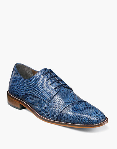 Rizzo Cap Toe Oxford in Blue for $104.90