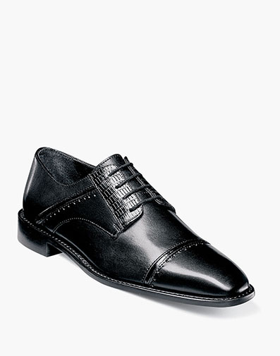 Ryland Cap Toe Oxford in Black for $89.90