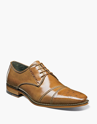 Talbot Cap Toe Lace Up in Tan for $175.00
