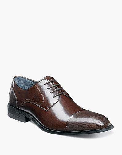 Jemison Cap Toe Oxford in Brown for $145.00