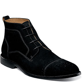Wexford  in Black Suede for $135.00