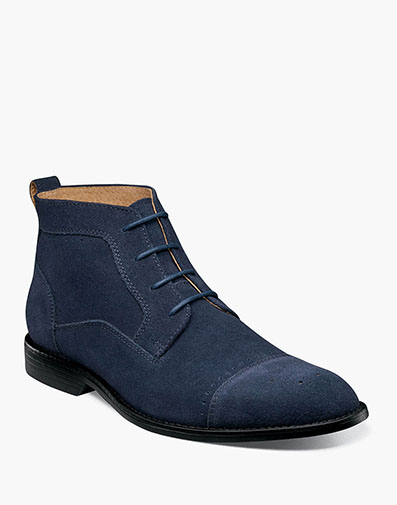 Wexford  in Navy Suede for $135.00