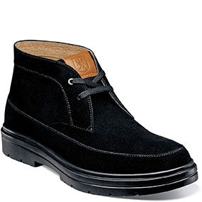 Amherst  in Black Suede for $130.00