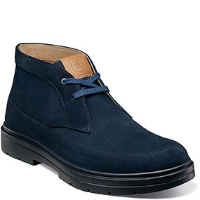 Amherst  in Navy Suede for $130.00