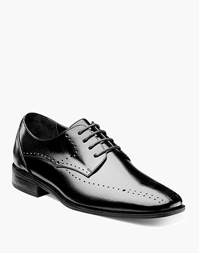Boys Atwell Plain Toe Oxford in Black for $70.00