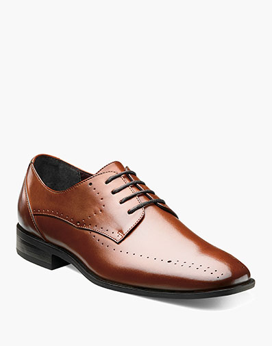 Boys Atwell Plain Toe Oxford in Cognac for $70.00